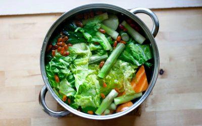 ZEROWASTE ZÖLDSÉGALAPLÉ – zöldséghulladékokból 10 perc előkészítéssel